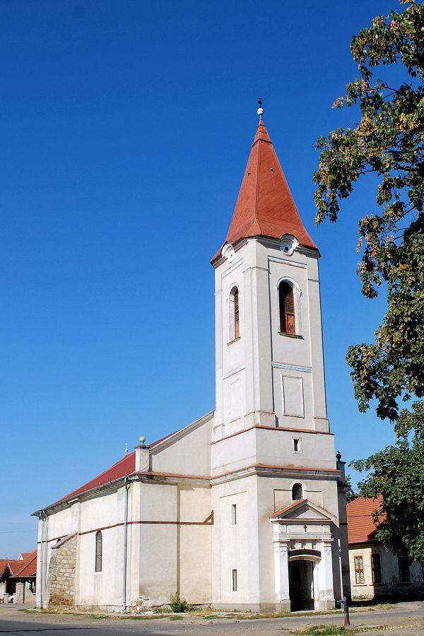 Abaújszántói evangélikus templom, Abaújszántó, Jászay tér