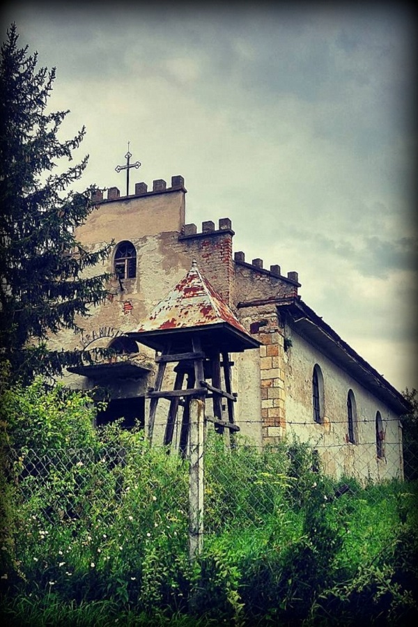 Hernádbűdi evangélikus templom, Hernádbűd Gibárt felőli végén